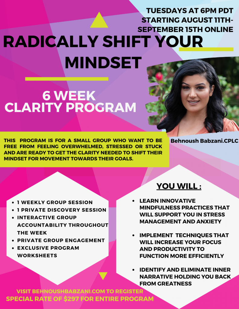 Radically shift your mindset with this 6-Week Clarity Program