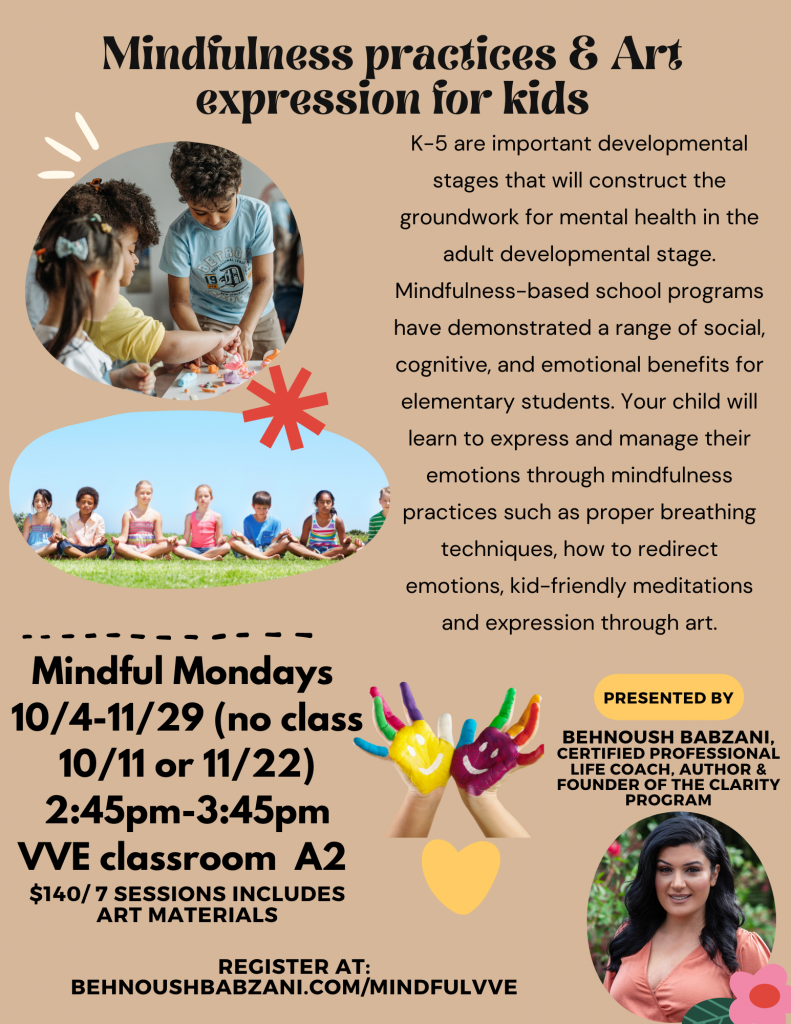Mindfulness practices and art expression for kids